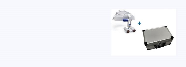 Acquista 1 caschetto Eyemag Pro S e ricevi in omaggio la valigia in alluminio del valore di 180 €