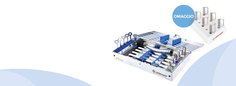 Acquista il kit L6000 con manipolo <br>ed accessori a 1.090 € <br>in omaggio il ricambio <br>di 6 lame L071